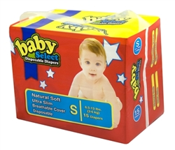 Baby Select Diapers Small 15ct.