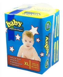 Baby Select Diapers Extra Large 8ct