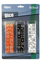 Large Dice Carded