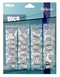 Small Dice (2 pcs/ Bag) Carded