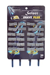 Disposable Razors Carded 24/ count