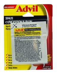 Advil Sinus Congestion & Pain Single-Pack Blister - 1 Tablet