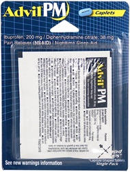 Advil PM Single-Pack Blister - 2 Caplets