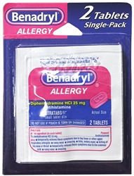 Benadryl Single-Pack Blister - 2 Tablets