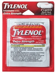 Tylenol Extra Strength Multi-Pack Blister - 4 Caplets