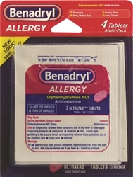 Benadryl Multi Pack Blistered 6 x 4's