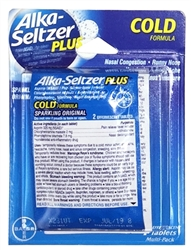 Alka-Seltzer Plus Multi-Pack Blister - 4 Tablets