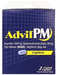 Advil PM Select~One Premium Single-Pack Carton