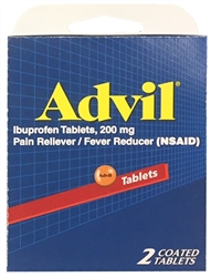 Advil Select~One Premium Single-Pack Carton