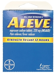 Aleve Select~One Premium Single-Pack Carton
