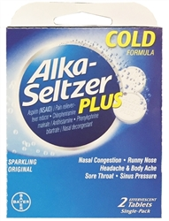 Alka-Seltzer Plus Select~One Premium Single-Pack Carton