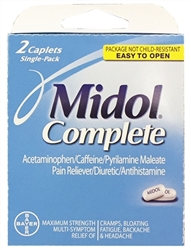 Midol Select-One Premium Single-Carton - 2 Tablets