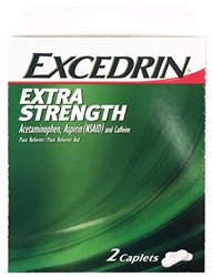 Excedrin Extra Strength Select~One Premium Single-Pack Carton