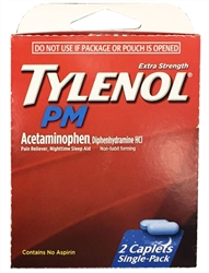Tylenol PM Select~One Premium Single-Pack Carton