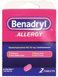 Benadryl Select~One Premium Single-Pack Carton
