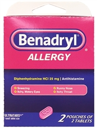 Benadryl Select~One Premium Multi-Pack Carton